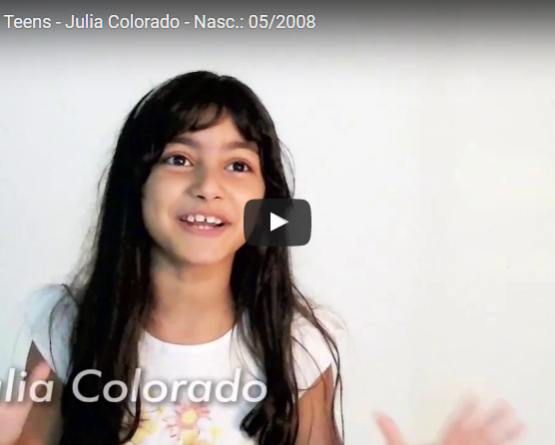 Julia Colorado - Nasc.: 05/2008